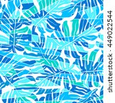 blue abstract surf pattern in a ... | Shutterstock .eps vector #449022544