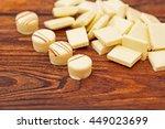 white milk chocolate truffles