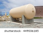 Small photo of Cylindrical aboveground storage tank at a wastewater treatment plant