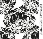 abstract elegance seamless... | Shutterstock . vector #449052634