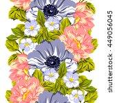 abstract elegance seamless... | Shutterstock .eps vector #449056045