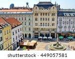 bratislava  slovakia   circa...   Shutterstock . vector #449057581