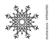 abstract flower.ornament... | Shutterstock . vector #449060581