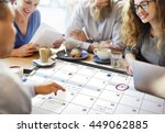calendar planner organization... | Shutterstock . vector #449062885
