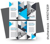 brochure design  business... | Shutterstock .eps vector #449074339