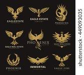 Bird And Eagle Logo Collection...