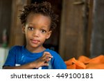 editorial use. children in... | Shutterstock . vector #449100181