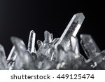crystal mineral stone crystal... | Shutterstock . vector #449125474