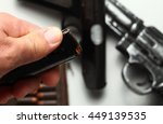 the man hand in holding  action ... | Shutterstock . vector #449139535