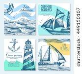 Sea Set. Nautical Elements...