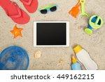 Beach Tablet Hero Header