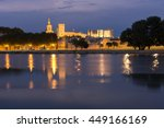 Night View In Avignon City ...