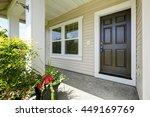 open porch with concrete floor  ...   Shutterstock . vector #449169769