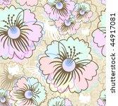 floral seamless pattern   Shutterstock .eps vector #44917081