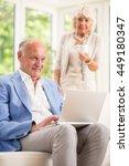 active retirement and... | Shutterstock . vector #449180347