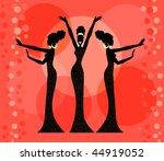 Lanan S Quot Silhouettes Black Amp White Quot Set On Shutterstock