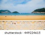view of the la concha beach... | Shutterstock . vector #449224615