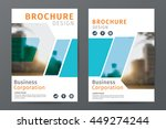 abstract  business  brochure... | Shutterstock .eps vector #449274244