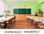 the class of kindergarten for... | Shutterstock . vector #449285917