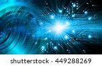 future technology  security... | Shutterstock . vector #449288269