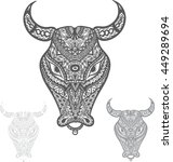 bulls   Shutterstock .eps vector #449289694
