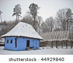 snow house country - stock photo