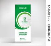 banner roll up design  business ...   Shutterstock .eps vector #449304901