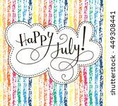 inspirational vector typography ... | Shutterstock .eps vector #449308441