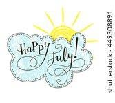 inspirational vector typography ... | Shutterstock .eps vector #449308891