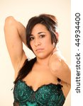 beautiful young female model in ... | Shutterstock . vector #44934400