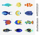 Tropical Fish Vector Collectio...