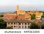 panoramic eveninig view of... | Shutterstock . vector #449361004