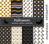 Set Of Halloween Backgrounds....