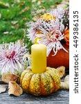 Candle In Pumpkin  Beautiful...