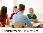education  learning and people... | Shutterstock . vector #449394925