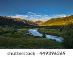 san juan mountain sunset in... | Shutterstock . vector #449396269