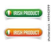 ireland flag   irish product... | Shutterstock .eps vector #449443999