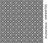 lace   doily seamless pattern ... | Shutterstock .eps vector #449449705