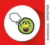fruit nature healthy cartoon... | Shutterstock .eps vector #449507905