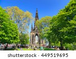 edinburgh   may 29  2016 ... | Shutterstock . vector #449519695