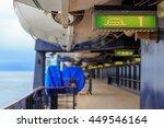 Escape Route On A Cruise Ship