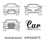 transporation design... | Shutterstock .eps vector #449560075
