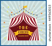 circus and carnival concept... | Shutterstock .eps vector #449563015