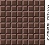 vector seamless chocolate... | Shutterstock .eps vector #449604739