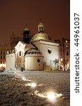 The Church of St. Adalbert (Kosciol sw. Wojciecha) on the market square in Cracow (Krakow), Poland