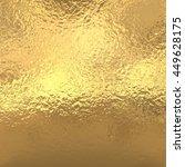 gold foil background  golden... | Shutterstock . vector #449628175