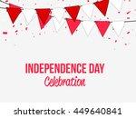 creative illustration poster or ... | Shutterstock .eps vector #449640841