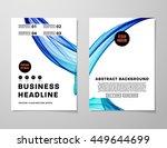 geometric cover background ...   Shutterstock .eps vector #449644699