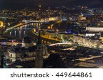 Night View Of The Old City Of...