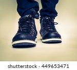 shoes vintaeg | Shutterstock . vector #449653471